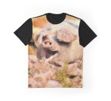 Pooped porky Graphic T-Shirt