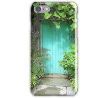 The Turquoise Door iPhone Case/Skin