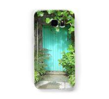 The Turquoise Door Samsung Galaxy Case/Skin
