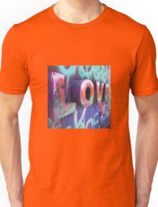 Graffiti with Love Unisex T-Shirt