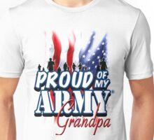 Proud of my Army Grandpa Unisex T-Shirt