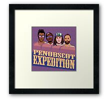 Penobscot Expedition Framed Print