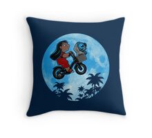 Stitch Phone Home Throw Pillow