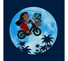 Stitch Phone Home Photographic Print