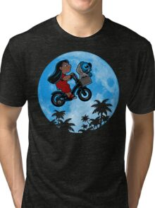 Stitch Phone Home Tri-blend T-Shirt