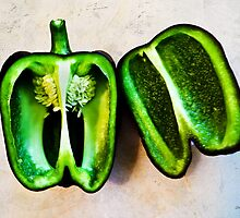 Poblano Pepper by SRowe Art