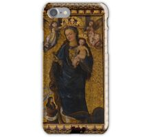 Madonna with a Rose, Bydgoszcz, Poland iPhone Case/Skin