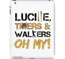 Lucille, Tigers & Walkers iPad Case/Skin