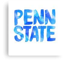 PENN STATE PSU PENNSYLVANIA STATE UNIVERSITY STICKER  Canvas Print