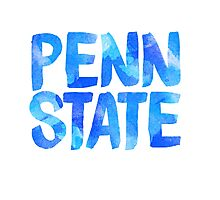 PENN STATE PSU PENNSYLVANIA STATE UNIVERSITY STICKER  Photographic Print
