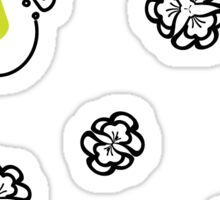 Coloring Book Sticker Series by Independent Designer Shelley Sticker