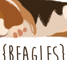 Beagles Sticker