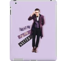 Trust me i m the doctor iPad Case/Skin