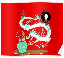 The white dragon Poster