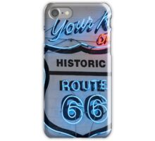 Get your Kicks On - Route 66 iPhone Case/Skin