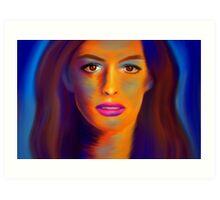 Waiihatissa - beautiful actress Art Print