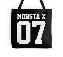 Monsta X 07 Athletic Style (White) Tote Bag