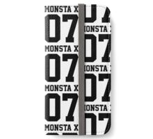 Monsta X 07 Athletic Style (Black) iPhone Wallet/Case/Skin