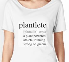 Plantlete - plant powered athlete Women's Relaxed Fit T-Shirt