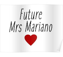 Gilmore Girls - Future Mrs Jess Mariano Poster