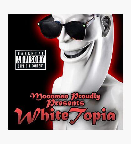 Moonman - Whitetopia Photographic Print