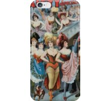 Performing Arts Posters Rice and Bartons Big Gaiety Spectacular Extravaganza Co 0311 iPhone Case/Skin