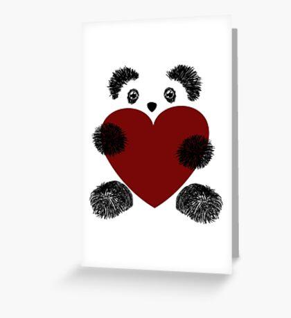 Panda love! Greeting Card