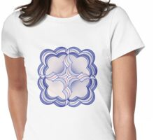 Flower Power! Womens Fitted T-Shirt