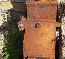 Corcreggan Mill Geraniums Sticker