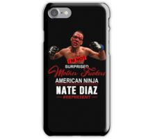 Nate Diaz iPhone Case/Skin