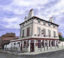 The Railway Tavern, Stratford by Jon Barker