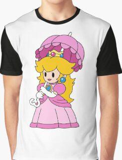 Paper Peach - Paper Mario Colour Splash  Graphic T-Shirt