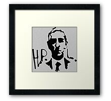 H.P.L. Tribute  Framed Print