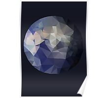 The Blue Planet - A Faceted View of the Planet Earth Poster