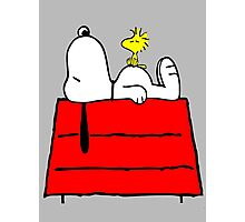 Snoopy chill out Photographic Print
