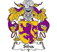 Silva Coat of Arms/Family Crest Photographic Print