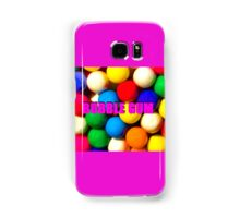 Bubble Gum with text Samsung Galaxy Case/Skin