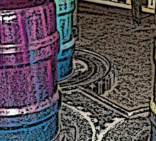 Barrels Sticker