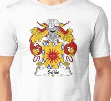 Solis Coat of Arms/Family Crest Unisex T-Shirt