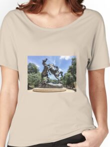 Fighting Stallions I Women's Relaxed Fit T-Shirt