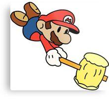 Paper Mario - Paper Mario Colour Splash Metal Print