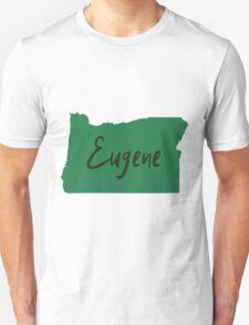 Eugene Oregon Unisex T-Shirt
