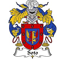 Soto Coat of Arms/Family Crest Photographic Print