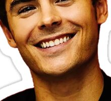 Zac Efron Sticker