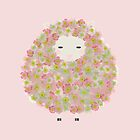 Cute Flowery Sheep Design ! by oursunnycdays