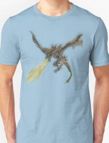 Elder Dragon Watercolor and Ink Painting Unisex T-Shirt