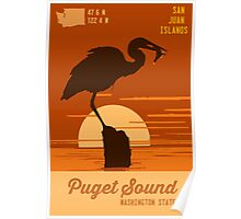 Puget Sound. Poster