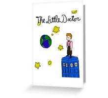 The Little Doctor (open background) Greeting Card