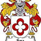 Sosa Coat of Arms/ Sosa Family Crest by William Martin