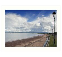 Couds over the Moray Firth Art Print